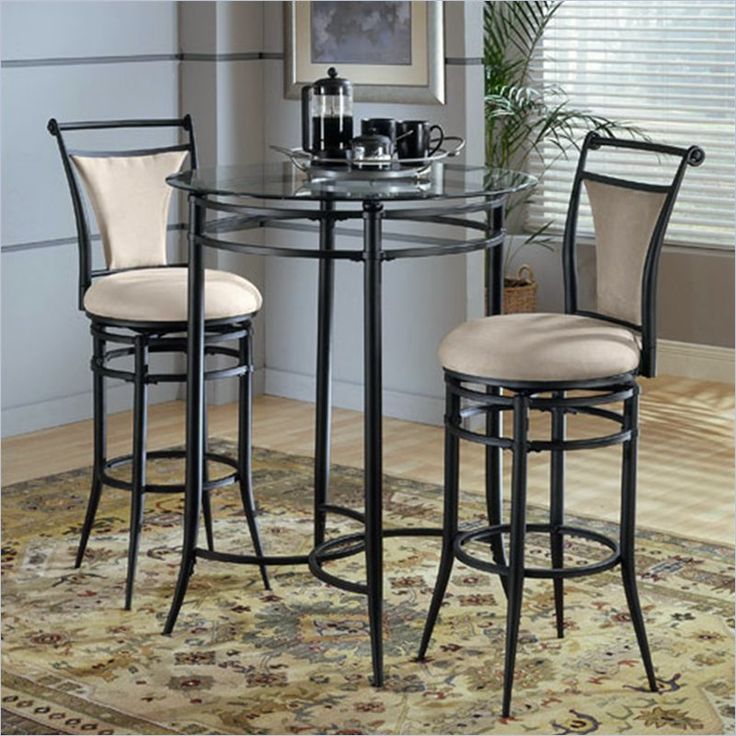 Hillsdale Cierra Mix-n-Match 3pc Pub Table Set with Stools in Fawn & 36 best Breakfast Nook - Bistro/Pub Tables u0026 Chairs images on ...
