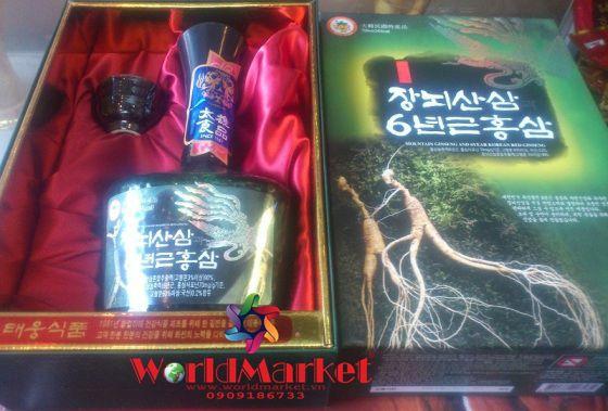 Tinh chất sâm núi 6 năm tuổi Taewoong