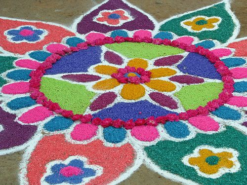 #Diwali 2013 Rangoli