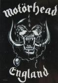 Motorhead - 'England' Poster Flag
