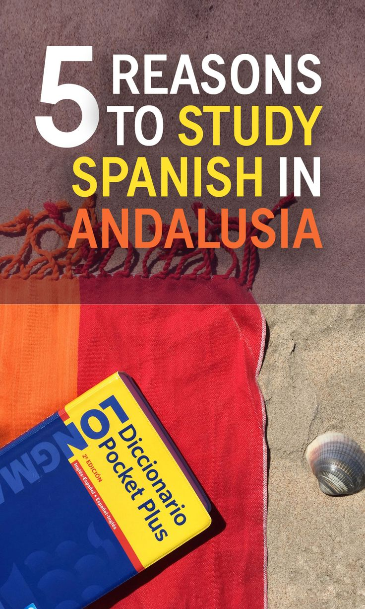 5 Reasons to Study Spanish in Andalusia - Travels of Adam - http://travelsofadam.com/2017/04/andalusia-study-spanish/