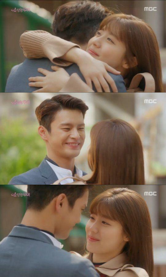 "[Spoiler] ""Shopping King Louis"" Seo In-guk and Nam Ji-hyeon hug and kiss"