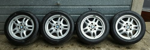 #Genuine bmw e36 316/318/328 alloys with good #pirelli #tyres,  View more on the LINK: 	http://www.zeppy.io/product/gb/2/302004824882/