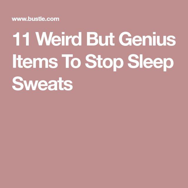 11 Weird But Genius Items To Stop Sleep Sweats