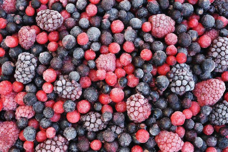 Fagyasztott bogyós gyümülcs