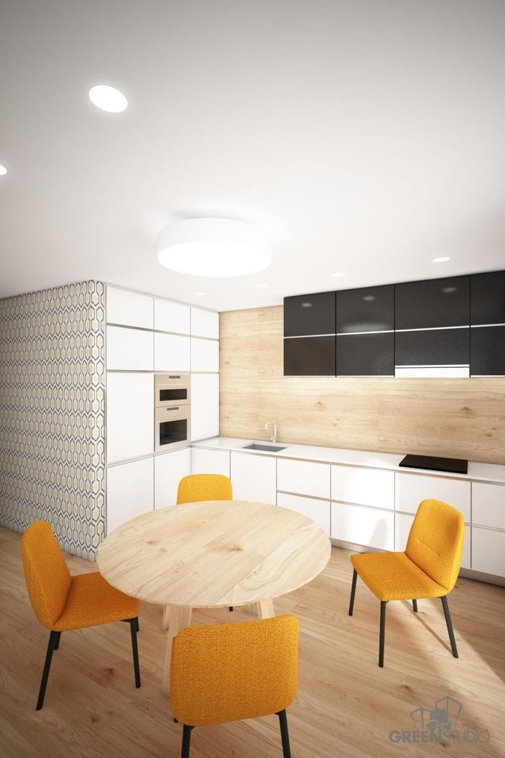 Interiér nízkoenergetického domu v Zurndorfe - kuchyňa