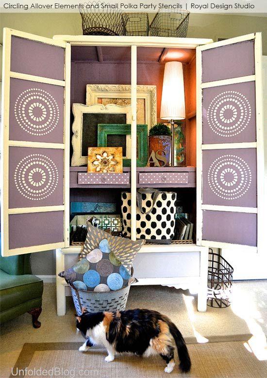 Ideas de proyectos de muebles pintados con modern circle - Royal design muebles ...