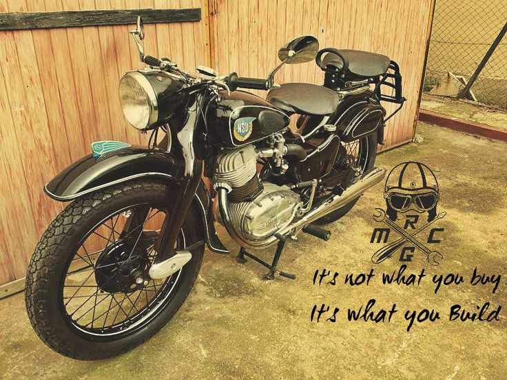 Done ! #NSU #motorcycle #Restoration