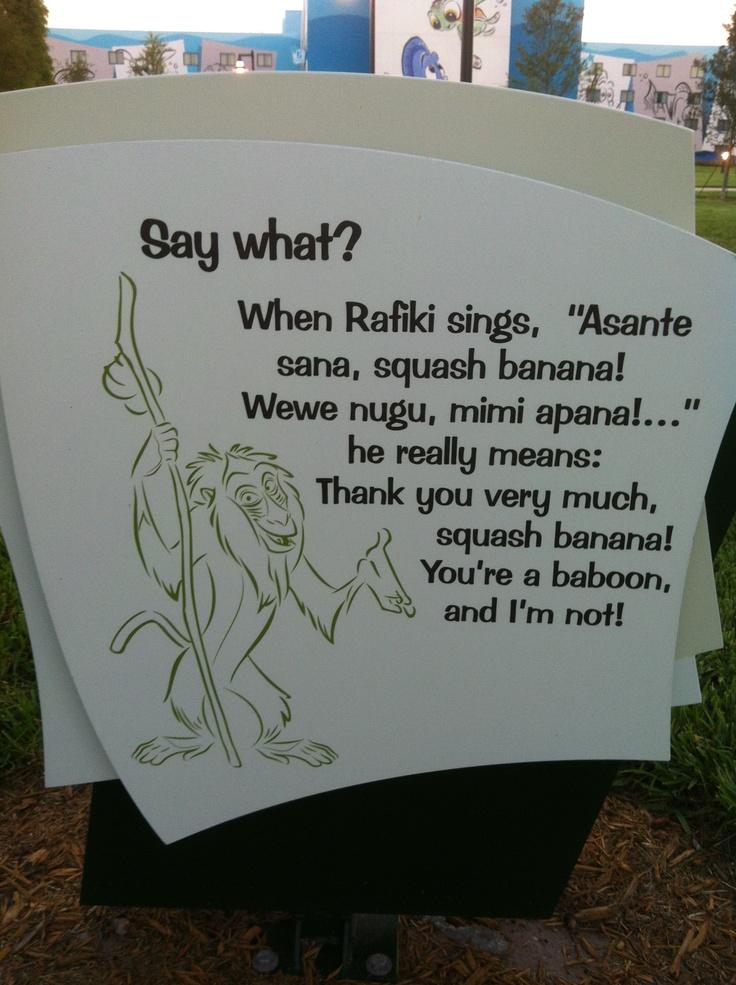 Rafiki Quotes | Pictures Of Rafiki Quotes Asante Sana Squash Banana Kidskunst Info