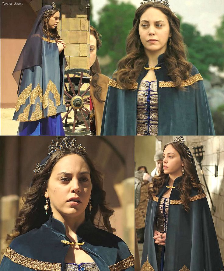 muhtesem yuzyil kosem, magnificent century kosem, dilruba sultan, purple dress, gold detailing, cape