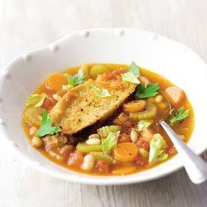 Recept - Italiaanse bonensoep (ribollita) - Allerhande