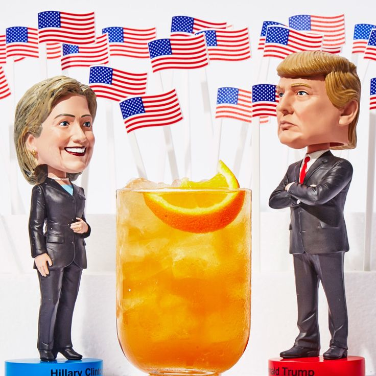 This is one of the strongest, yet tastiest, cocktails we've ever created using ingredients inspired by swing states—just in time to help get you through the election.