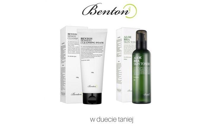 skin79-sklep.pl - BENTON Zestaw Promocyjny Benton Honest Cleansing Foam + Benton Aloe BHA Skin Toner