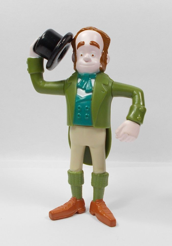 Aardman - The Pirates - Charles Darwin Toy Figure - Cake Topper (4)