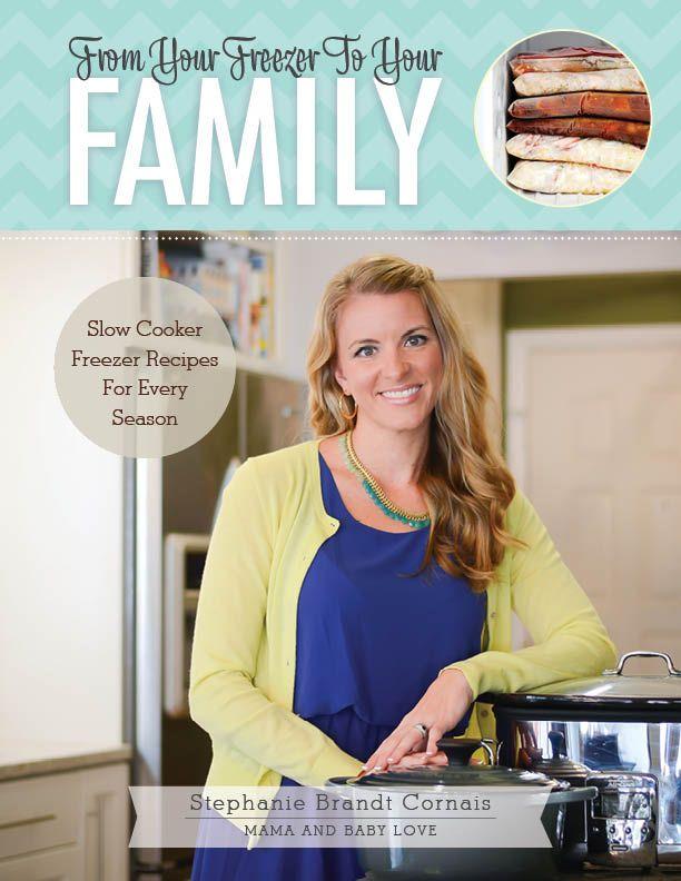 Healthy Momma BBQ Chicken  Freezer Crockpot Meals