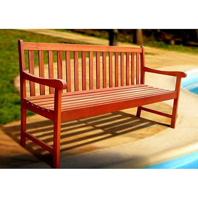 <li>Enhance your garden or patio with a Nobi five-foot bench</li> <li>Outdoor bench provides extra seating while enhancing the style of your outdoor decor </li> <li>Patio furniture  make the perfect addition to your outside area</li>