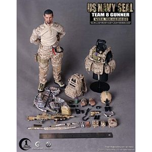 Crazy Dummy US Navy SEAL Team 8 Gunner (CD-78003)
