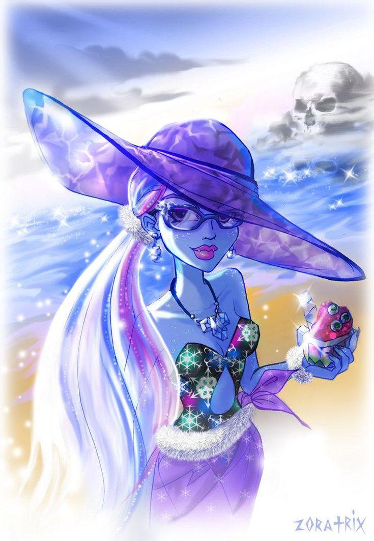Monster High Fan Art | Abbey; Skull Shores - Monster High Fan Art (32406169) - Fanpop ...