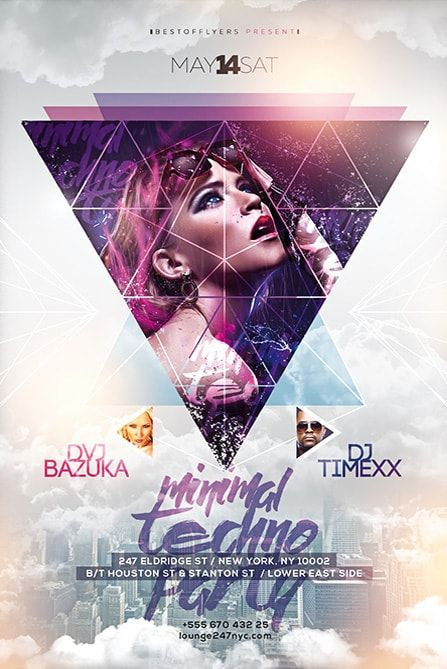 Free Party Flyer Templates template Pinterest Flyer template