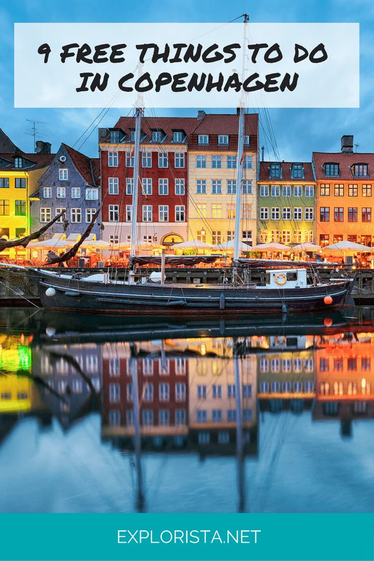 9 Free Things to Do in Copenhagen, Denmark, via Explorista