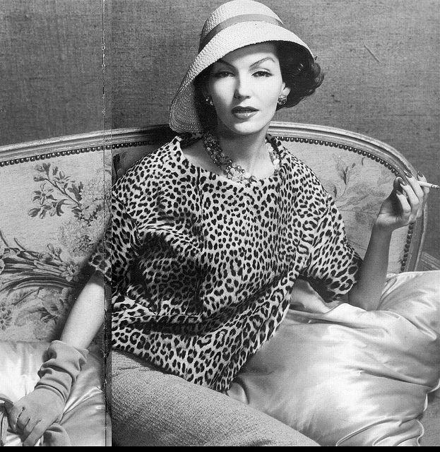 Wearing Christian Dior 1957   Flickr - Photo Sharing!