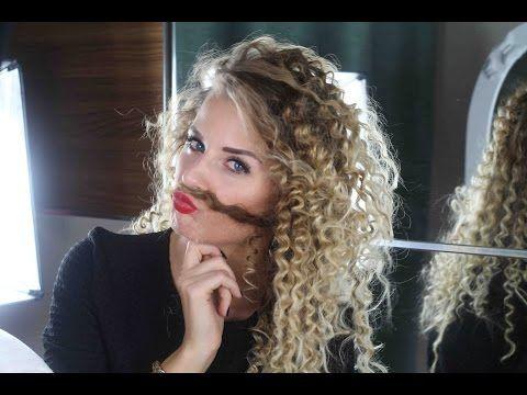 Afro Locken / Mini Natur Locken mit Strohhalmen OHNE HITZE selber machen - YouTube