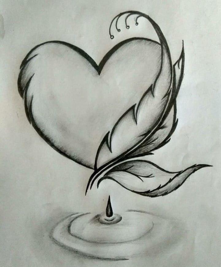 Pin Von Rosilda Araujo Auf Arte Zeichnungen Von Herzen Bleistift Kunstzeichnungen Zeichnungsskizzen