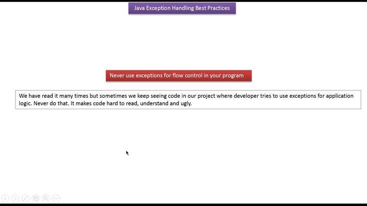 ramram43210,J2EE,Java,java tutorial,java tutorial for beginners,java tutorial for beginners with examples,java programming,java programming tutorial,java video tutorials,java basics,java basic tutorial,java basics for beginners,java interview questions and answers,java basic concepts,java basics tutorial for beginners,java programming language,java exception,exception handling in java,Java Exception handling Best practices