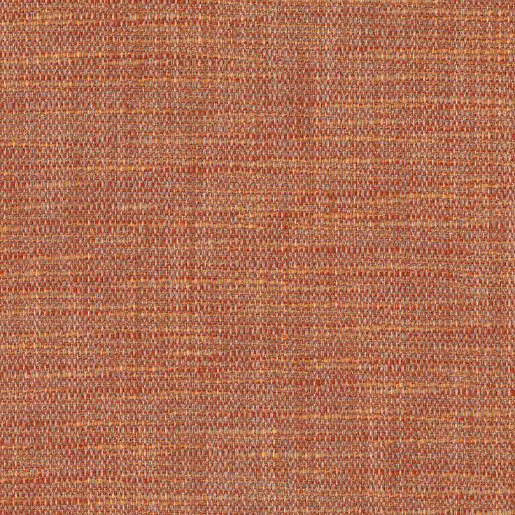 Warwick Fabrics : NIXON, Colour TERRACOTTA