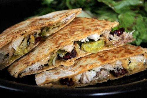 Leftover Turkey Quesadilla with Cranberries and Gouda: Healthy Cooking, Lite Bites, Healthy Recipe, Thanksgiving Leftover, Healthy Food, Cooking Blog, Weight Watchers Recipes, Weight Watcher Recipes