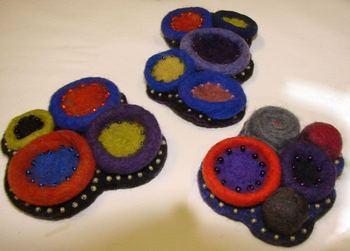 brooches by Jan Bosher