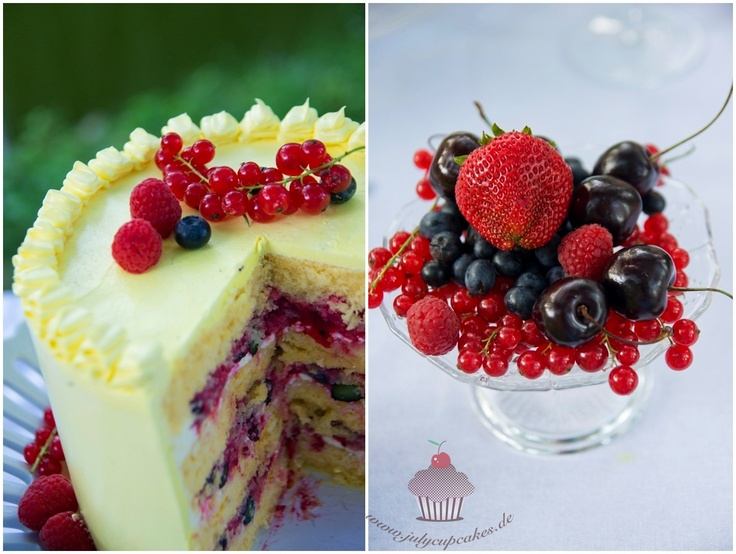 July`s Cupcakes and Cakes World: Lemon Berry Cake