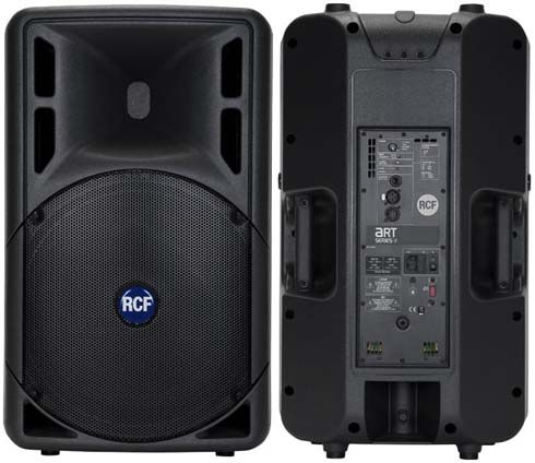 "RCF ART315A active 2-way 15"" & horn, 400 watts RMS (FoH Mid-Hi for 16 ch and 24 ch PA)"