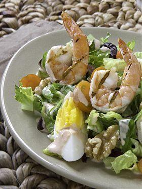 Bunter Salat mit Walnüssen und Garnelen – Fit mit Walnüssen – #Bunter #fit # …. – Gemischter Salat