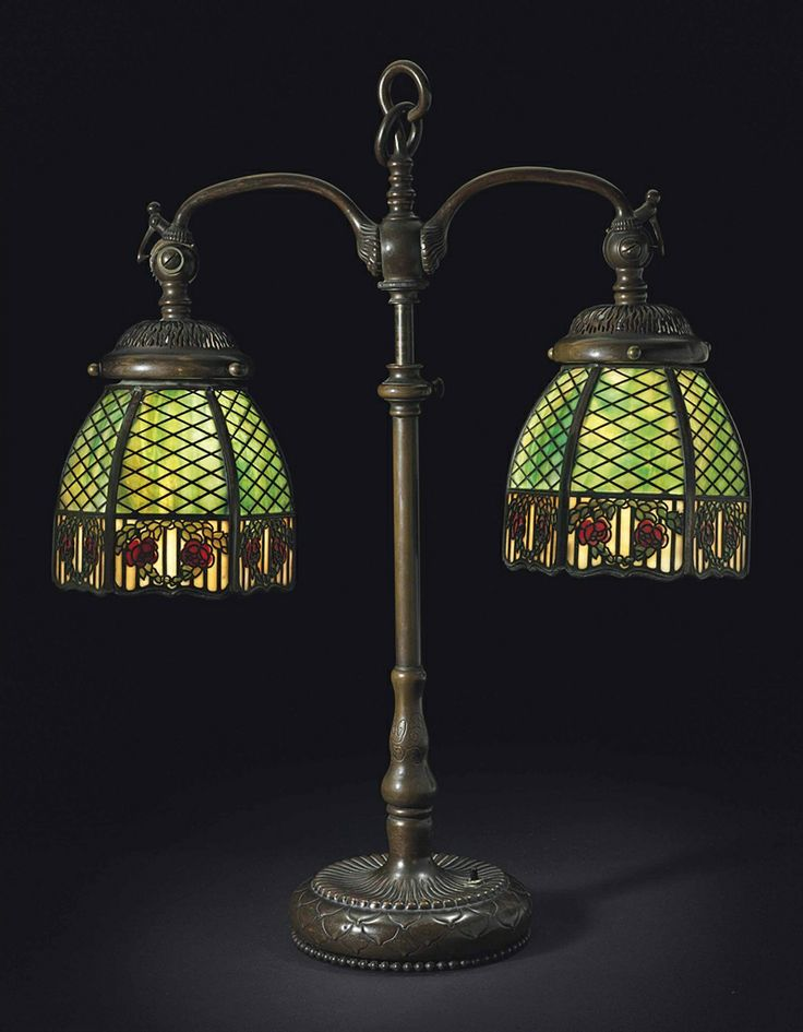 66 best handel lamp co images on pinterest buffet lamps table handel a pair of shades circa 1905 mozeypictures Choice Image