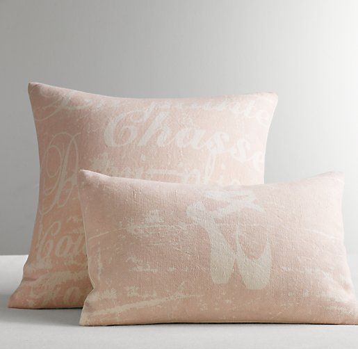 Throw Pillows Rust : 1000+ images about vintage ballet bedrooms for kids on Pinterest Velvet, Pink tutu and Girl ...