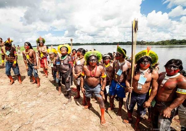Rainforest tribes seek World Cup spotlight  Tribal leaders from the Amazon rainforest are using the glare of publicity on the football World Cup in Brazil to highlight an impassioned plea for recognition of their lands and an end to dam building and deforestation.
