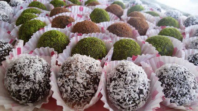 كرات الشوكولاته راس العبد سهلة التحضير طيبة ولذيذة جربوها Chocolate Arabic Dessert Street Food Arabic Sweets