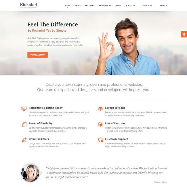 InnoCompany Corporate WordPress Theme | Best WordPress Themes Download 2013