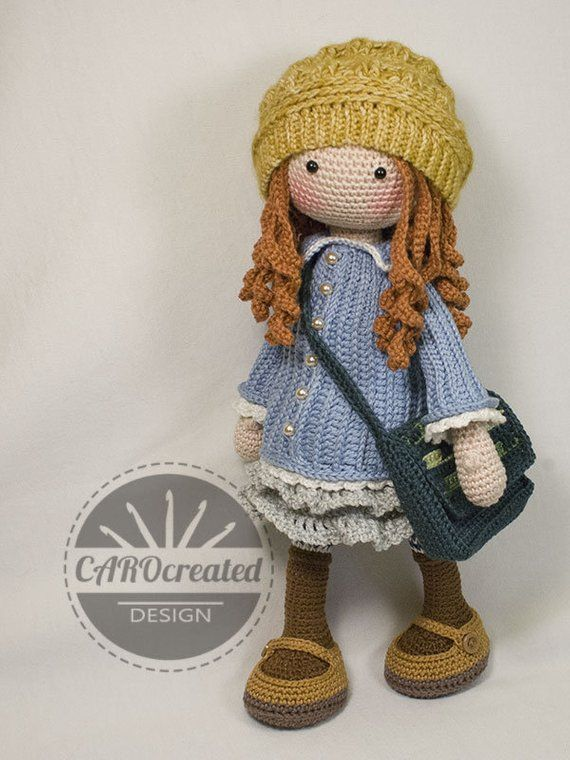 a16f35ae642 Crochet Pattern for Doll SMILLA pdf Deutsch English