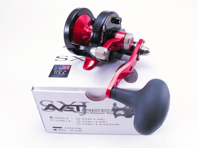 Avet SXJ 5 3 Single Speed Lever Drag Casting Reel * Custom