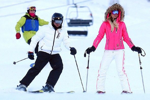 Pictures of Celebrities Who Ski and Snowboard - POPSUGAR