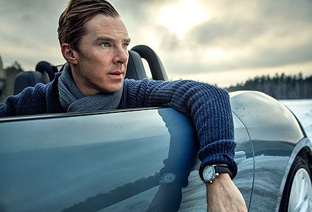 Benedict Cumberbatch: ice driving in Finland