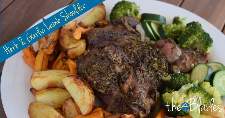 Lovely Herb and Garlic Lamb Shoulder
