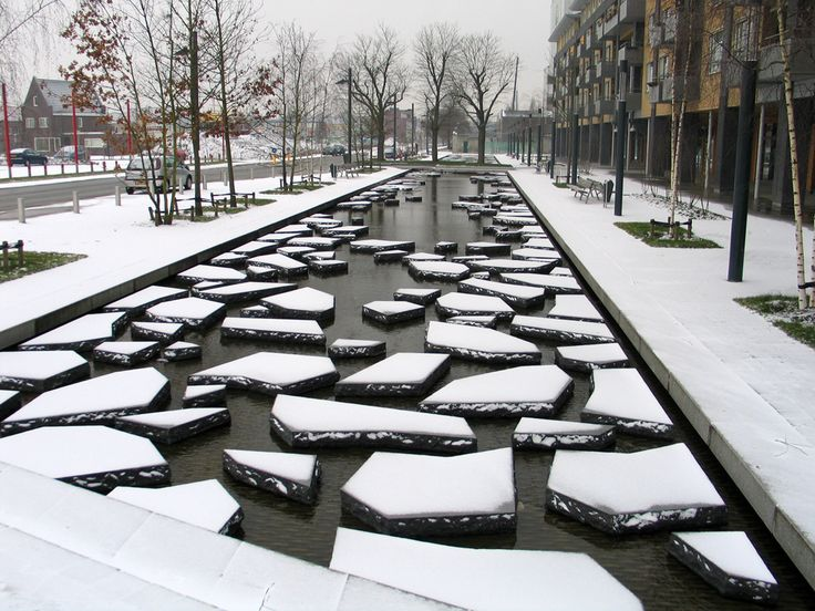 'roombeek the stream' by buro sant en co. landscape architects / enschede, the netherlands