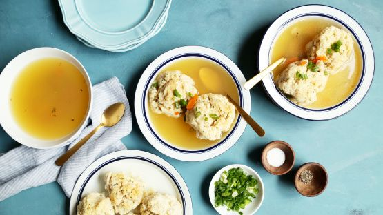 OK, OK, I know; your bubbie made the perfect matzo balls. But they are finicky little rascals that are made a 1000 different ways and everyones bubbies always made them best. What I want to share here is the simplest, no nonsence methode of the creation of soft and/or firm matzo balls; for just like white and dark meat people, there are soft and firm matzo ball people.