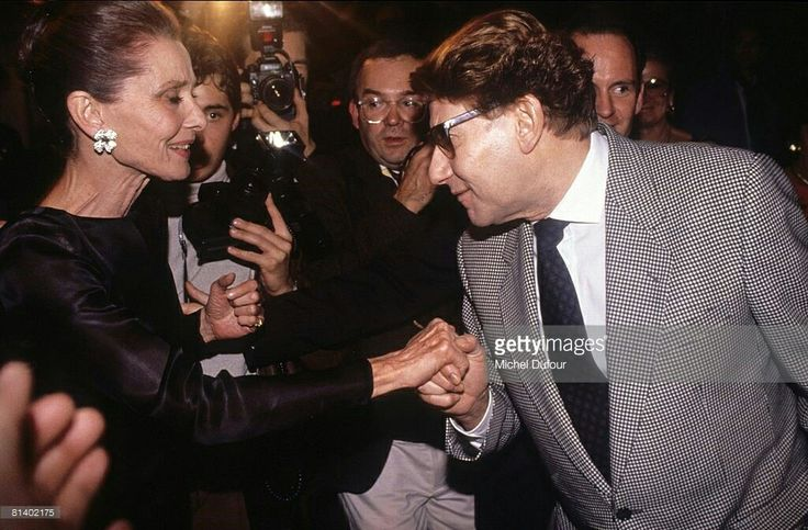 1990 avec Audrey Hepburn