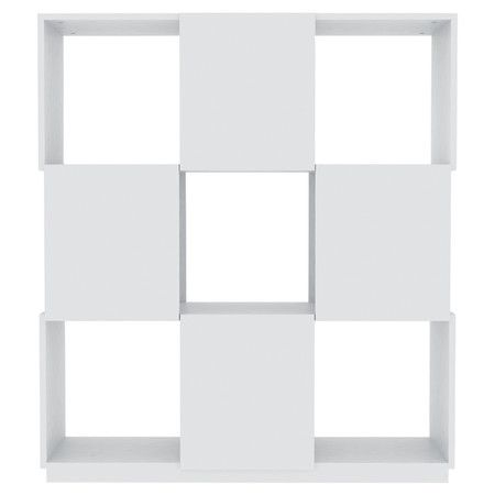 Branch 5-Module Bookcase in Pure White