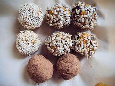 Сумасшедшая птица - ЗОЖ Конфеты из сухофруктов и орехов + идея здорового быстрого десерта для неожиданных гостей :)