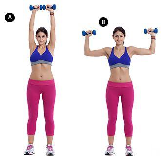 4 oefeningen om je schouder te trainen thuis of in de fitness. Getrainde schouders zorgen voor een mooiere houding en een goede lichaamsverhouding.
